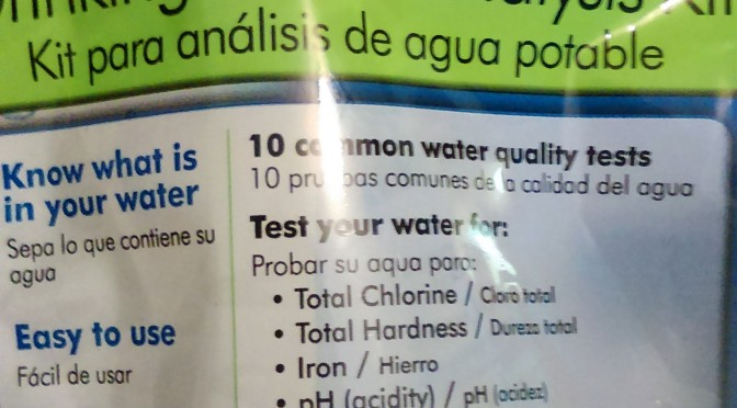 H2O Water Test